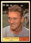 1961 Topps #281  Frank Sullivan  Front Thumbnail