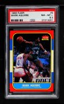 1986 Fleer #3  Mark Aguirre  Front Thumbnail