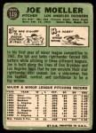 1967 Topps #149  Joe Moeller  Back Thumbnail