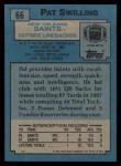 1988 Topps #66  Pat Swilling  Back Thumbnail