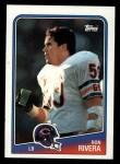 1988 Topps #81  Ron Rivera  Front Thumbnail