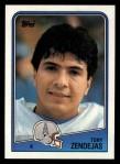 1988 Topps #109  Tony Zendejas  Front Thumbnail