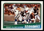 1988 Topps #130   -  Curt Warner / Steve Largent / Kenny Easley / Jacob Green / Fredd Young Seahawks Leaders Front Thumbnail