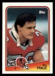 1988 Topps #388  Bill Fralic  Front Thumbnail