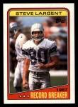 1988 Topps #3   -  Steve Largent Record Breaker Front Thumbnail