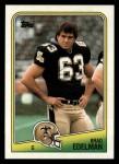 1988 Topps #60  Brad Edelman  Front Thumbnail