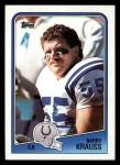 1988 Topps #127  Barry Krauss  Front Thumbnail