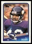 1988 Topps #150  D.J.Dozier  Front Thumbnail