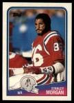 1988 Topps #180  Stanley Morgan  Front Thumbnail