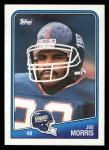 1988 Topps #273  Joe Morris  Front Thumbnail