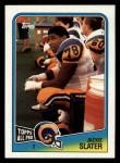 1988 Topps #295  Jackie Slater  Front Thumbnail