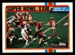 1989 Topps #1   Super Bowl XXIII Front Thumbnail
