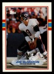 1989 Topps #62  Jim McMahon  Front Thumbnail