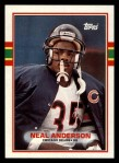 1989 Topps #64  Neal Anderson  Front Thumbnail