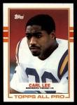 1989 Topps #76  Carl Lee  Front Thumbnail
