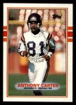 1989 Topps #79  Anthony Carter  Front Thumbnail
