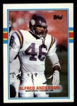 1989 Topps #85  Alfred Anderson  Front Thumbnail