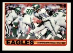 1989 Topps #106   -  Randall Cunningham / Keith Jackson / Terry Hoage / Reggie White / Andre Waters Eagles Leaders Front Thumbnail