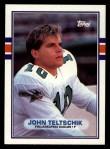1989 Topps #110  John Teltschik  Front Thumbnail