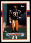 1989 Topps #134  Kevin Greene  Front Thumbnail