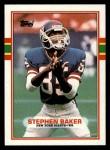 1989 Topps #174  Stephen Baker  Front Thumbnail