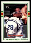 1989 Topps #206  Eric Dickerson  Front Thumbnail