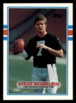 1989 Topps #270  Steve Beuerlein  Front Thumbnail