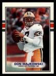 1989 Topps #373  Don Majkowski  Front Thumbnail