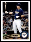 2011 Topps Update #55  Anthony Rizzo  Front Thumbnail