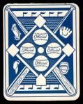 1951 Topps Blue Back #45  Bill Pierce  Back Thumbnail