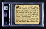 1938 Gum Inc. Horrors of War #230   No Mans Land on Aliaga Slope Back Thumbnail