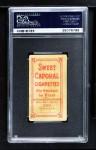 1909 T206 xGLV Ed Reulbach  Back Thumbnail