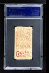 1912 T207 Red Cycle CYC Russell Blackburne  Back Thumbnail