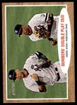 2011 Topps Heritage #37   -  Derek Jeter / Robinson Cano Bombers' Double Play Duo Front Thumbnail