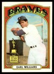 1972 Topps #380  Earl Williams  Front Thumbnail