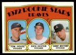 1972 Topps #351   -  Tom House / Jimmy Britton / Rick Kester Braves Rookies   Front Thumbnail