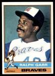 1976 Topps #410  Ralph Garr  Front Thumbnail