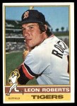 1976 Topps #292  Leon Roberts  Front Thumbnail