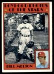 1972 Topps #495   -  Bill Melton Boyhood Photo Front Thumbnail