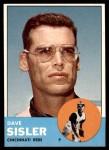 1963 Topps #284  Dave Sisler  Front Thumbnail