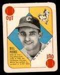 1951 Topps Blue Back #45  Bill Pierce  Front Thumbnail