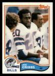 1982 Topps #26  Joe Cribbs  Front Thumbnail