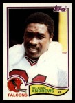 1982 Topps #272  William Andrews  Front Thumbnail
