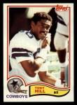 1982 Topps #316  Tony Hill  Front Thumbnail