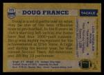 1982 Topps #375  Doug France  Back Thumbnail