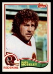 1982 Topps #516  Mark Moseley  Front Thumbnail