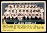 1956 Topps #134 WHT  Cardinals Team Front Thumbnail