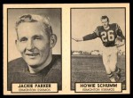 1962 Topps CFL  Jackie Parker / Howie Schumm  Front Thumbnail