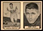1962 Topps CFL  Bronko Nagurski / Herb Gray  Front Thumbnail
