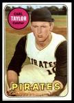 1969 Topps #357  Carl Taylor  Front Thumbnail